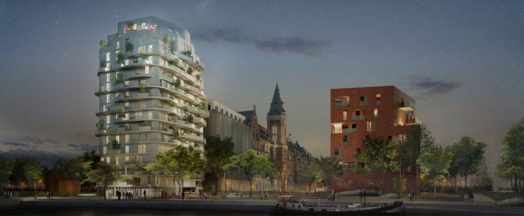 Le long du canal de la Deûle, l'avènement d'un nouveau quartier