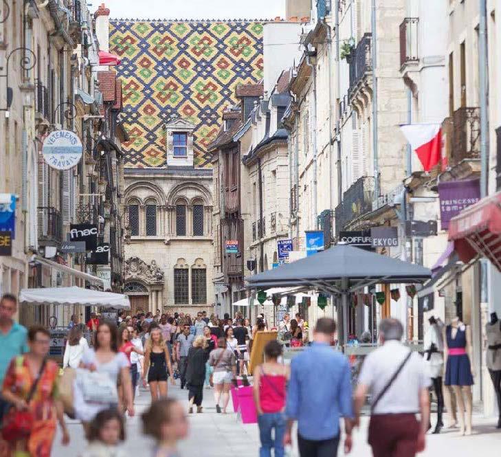 Dijon : place forte du patrimoine historique français